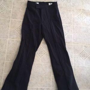 Metropolis stretch high waist black ski pants